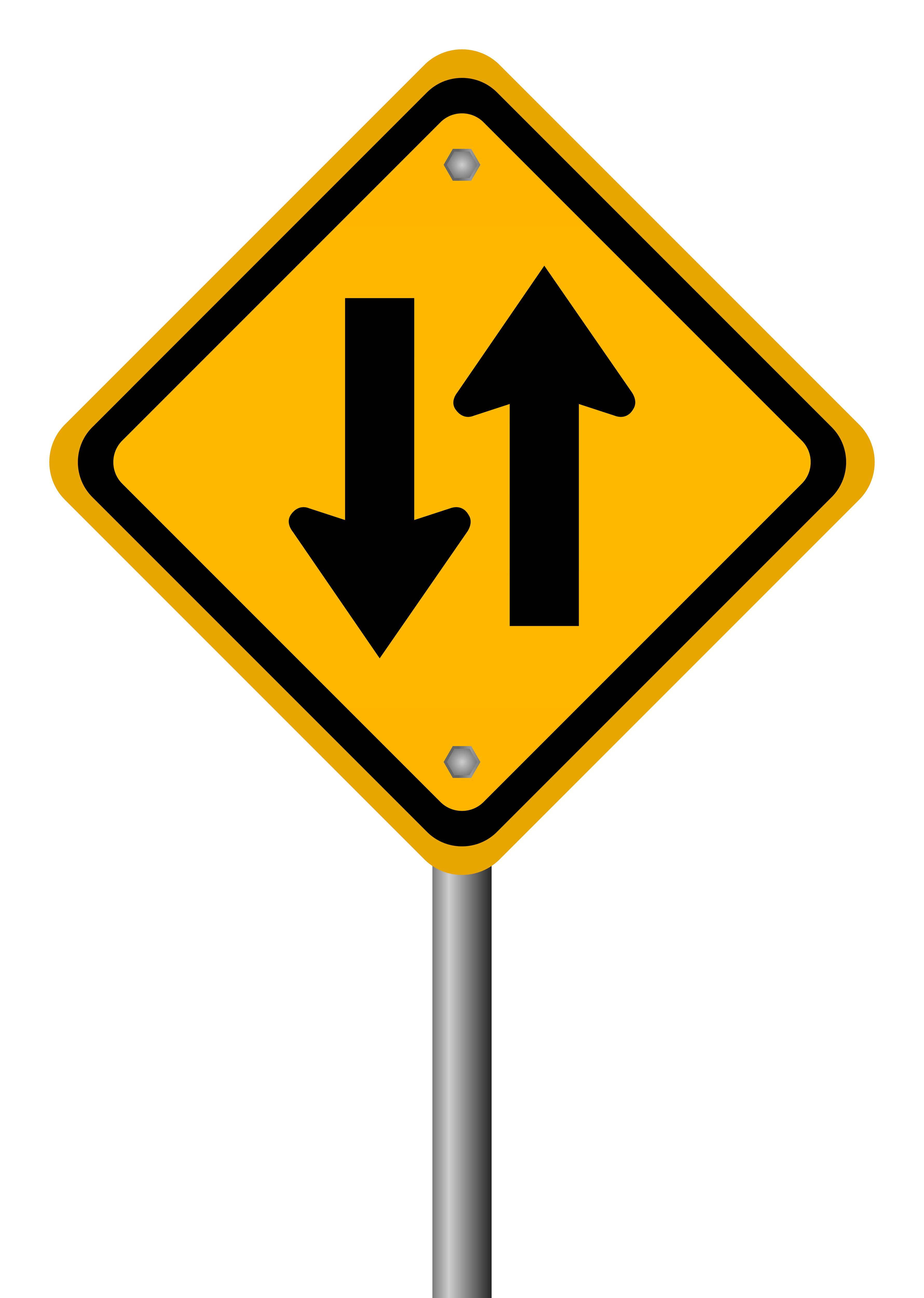 Two Way Arrow Road Sign Boomers Social Media Tutor